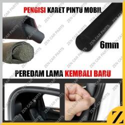 Karet Peredam Pintu Mobil Bulat O 6mm interior per meter