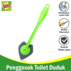 Sikat Sudut Kloset / Sikat WC / Toilet Brush Scotch brite ID-55