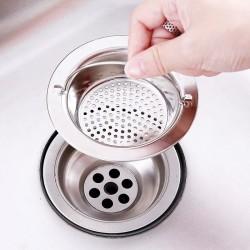 Cirong | saringan lubang wastafel handle stainless anti karat besar
