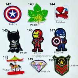 emblem patch bordir emoticon