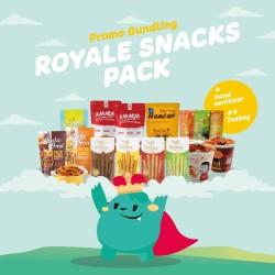 Royale Snacks Pack Pilihan Cemilan Terbaik dari Royale Foods Keripik