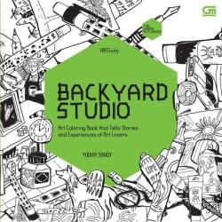 Art Therapy Anti Stress Adult Coloring Book Backyard Studio Original