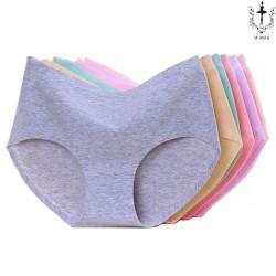Wimiu CD Seamless 3 Pcs Celana Dalam Wanita Panty Pakaian Dalam 4755 - Multicolor, L