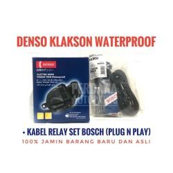 Klakson Keong Denso Waterproof + Relay Set Bosch