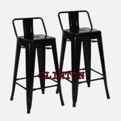 Kursi bar tinggi 75CM kursi besi kursi makan kursi cafe kursiminimalis