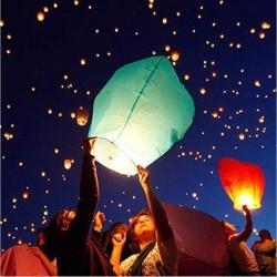 LAMPION TERBANG - Sky Lantern - Flying Lantern - Lentera Terbang