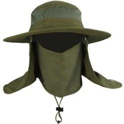Topi mancing anti uv / topi jepang / Topi Gunung dengan Sarung Wajah