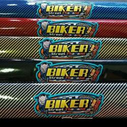 Kulit Jok Biker Karbon Sarung Jok Cover Carbon Biker /Bikers Thailand