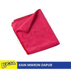 Lucsa Mikron Dapur 30x40cm - Kain Lap Serat Mikro Microfiber Kitchen