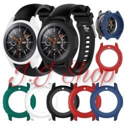 Case Cover Silicone Silikon Karet Samsung Galaxy Watch 46mm SM R800