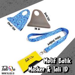 Masker Scuba Set Tali ID / Masker Motif / Masker Promosi