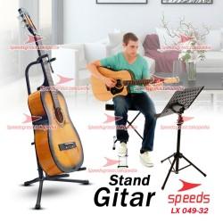 Stand Gitar Bass Ukulele Elektrik Dudukan Gitar Penyangga Gitar 049-32