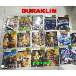 GAME XBOX 360 MURAH SUPER LENGKAP 1350 JUDUL FOR LT 3 & RGH