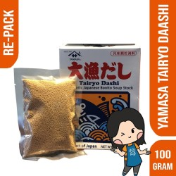 YAMASA TAIRYOU DASHI STOCK REPACK 100 GR / KALDU IKAN REPACK 100gr