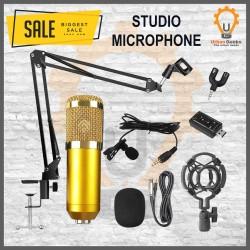 Micrphone Condenser BM800 Lengkap Mic Smule Youtube Podcast