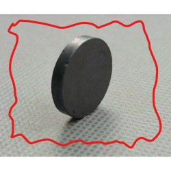 8x3mm magnet hitam magnet ferrite magnet kulkas koin bulat 8x3 mm kuat