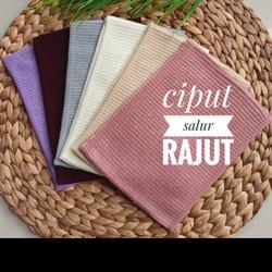 Ciput Rajut Premium Salur - dusty pink