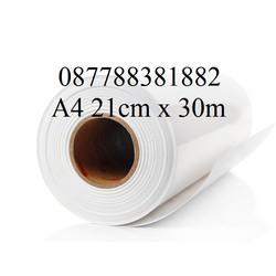 Stiker Vinyl Inkjet A4 Roll - 21cm x 30m