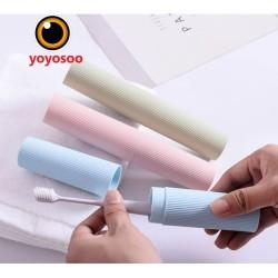 Tempat Box Kotak Sikat Gigi Portable - Travel Toothbrush Case-yoyosoo