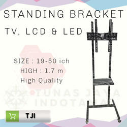 Standing Bracket TV LCD & LED - Hitam