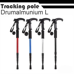 trekking tracking pole tongkat gunung gagang L - silver