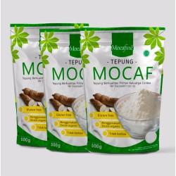 Paket Hemat 3 Tepung Mocaf Mocafine - Gluten Free - Organik