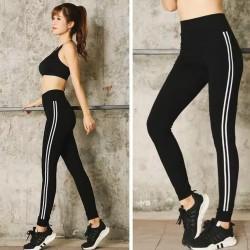 Celana legging sport import wanita senam olahraga fitness gym yoga