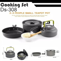 DS308 Nesting outdoor dengan teko portable - DS-308 Nesting Misting
