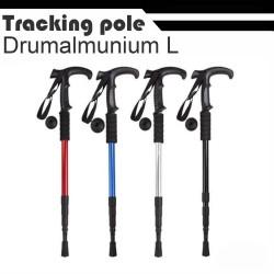 trekking tracking pole tongkat gunung gagang L - Biru