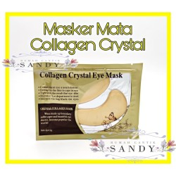 Masker Mata Emas 24 K - Crystal Collagen Gold Eye Mask 24 K