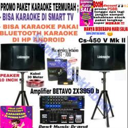 PROMO paket karaoke System Smart TV & android LINKMASTER 10 inch