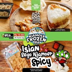 Isian Sego Njamoer Spicy Frozen