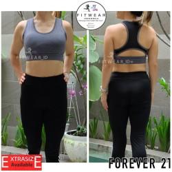 SportBra Olahraga Wanita (Fitness,Zumba,Yoga) Forever21 MARLED [grey]