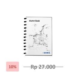 Lyra SketchBook A5 / Lyra Sketch Book Binder A5 - Terlaris - Termurah