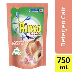 Rinso Molto Detergen Cair Japanese Peach 750Ml