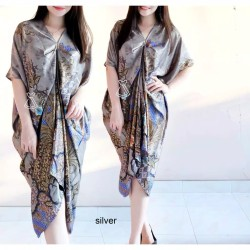 Dress Wanita / Dress Kaftan / Kaftan Batik / Bahan Katun Adem