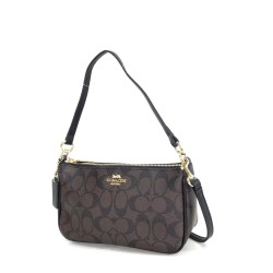 COACH Top Handle Pouch in Signature