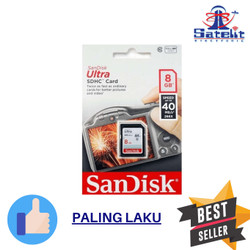 SD Card Sandisk Ultra 8GB 40MB/s