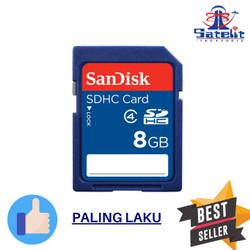 SD Card Sandisk 8GB class 4