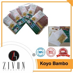 PROMO 100% ORIGINAL Bamboo GOLD Foot Patch Koyo Kaki Detox Herbal PF25