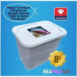 Ice Cream Neapolitan 8 Liter Diamond