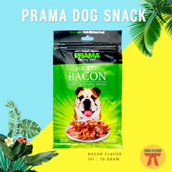 CEMILAN / MAKANAN / SNACK Anjing PRAMA DOG SNACK COLLECTION 70 GRAM