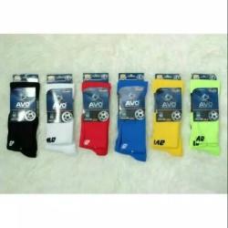 Kaos Kaki Bola Soccer Avo R1 Original Panjang Diatas Lutut