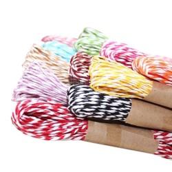 tali rami warna tali craft hiasan kado tali box kue (per meter)