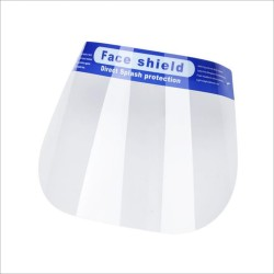 Face Shield Pelindung Wajah Dari Droplets Clear Anti-Fog Lightweight