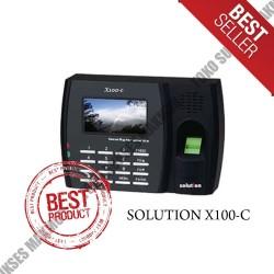 Solution X100C Mesin Absensi Finger Print