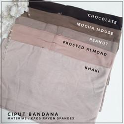 ciput bandana / dalaman kerudung / inner hijab