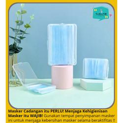 Tempat Penyimpanan / Kotak Simpan Portable Masker Kain Medis N95
