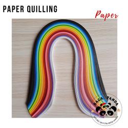 Kertas Paper Quilling isi 260 lembar / Paper Quiling Art / Kertas Seni
