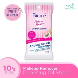 BIORE Cleanising Oil In Sheets 10S